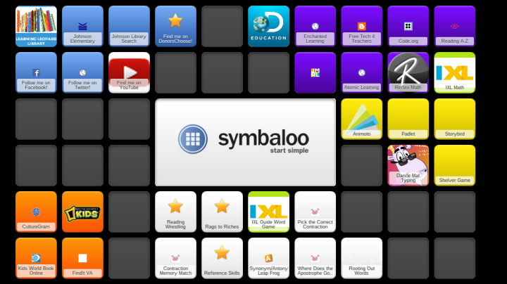 The Learning Leopard Library Symbaloo mix