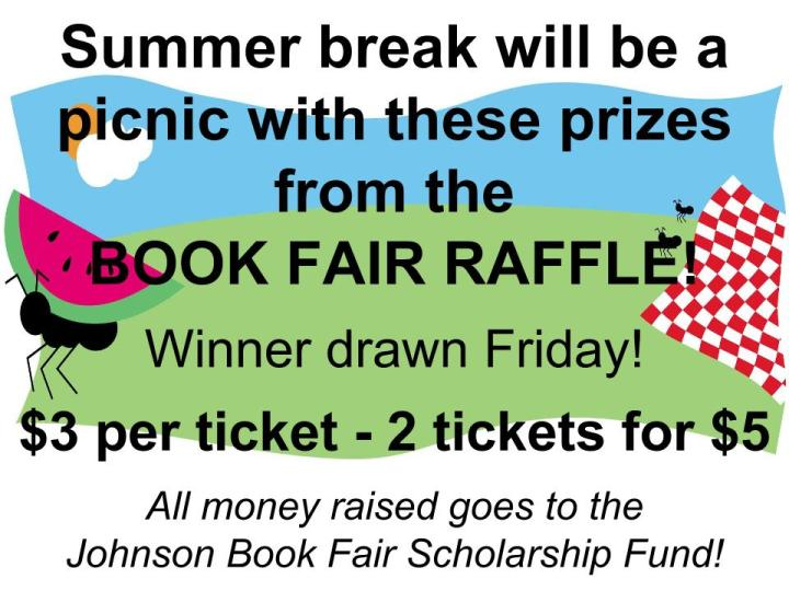 Fall book fair raffle
